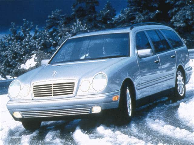 Highest Horsepower Wagons of 1998 - 1998 Mercedes-Benz E-Class