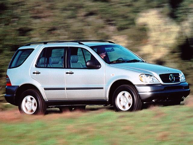 Most Popular Crossovers of 1998 - 1998 Mercedes-Benz M-Class