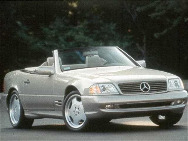 Top Consumer Rated Convertibles of 1998 - 1998 Mercedes-Benz SL-Class