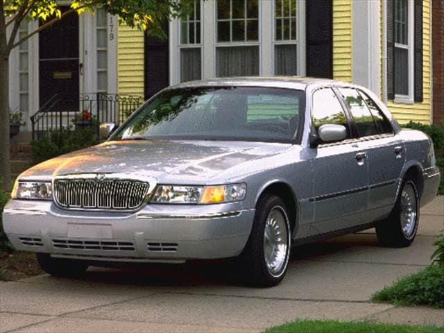 Top Consumer Rated Sedans of 1998 - 1998 Mercury Grand Marquis