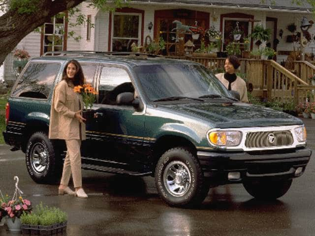 Top Consumer Rated SUVs of 1998 - 1998 Mercury Mountaineer
