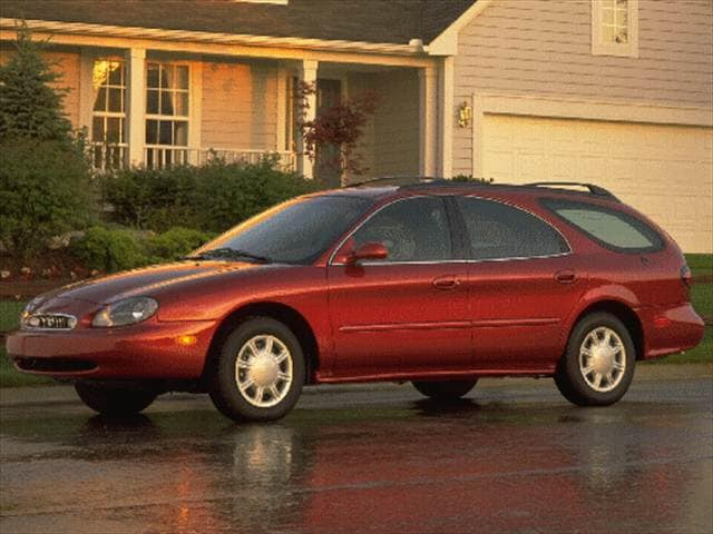 Most Popular Wagons of 1998 - 1998 Mercury Sable
