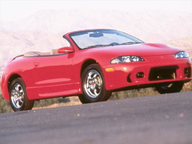 1998 Mitsubishi Eclipse Gs Spyder Convertible 2d Used Car Prices Kelley Blue Book