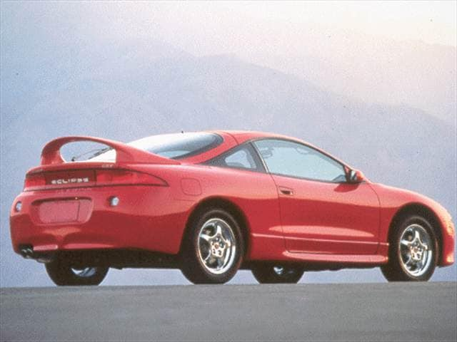 Highest Horsepower Hatchbacks of 1998 - 1998 Mitsubishi Eclipse