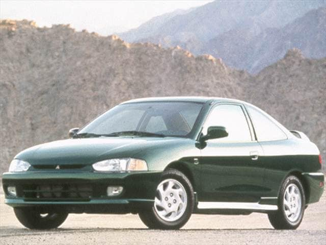 Most Fuel Efficient Coupes of 1998 - 1998 Mitsubishi Mirage