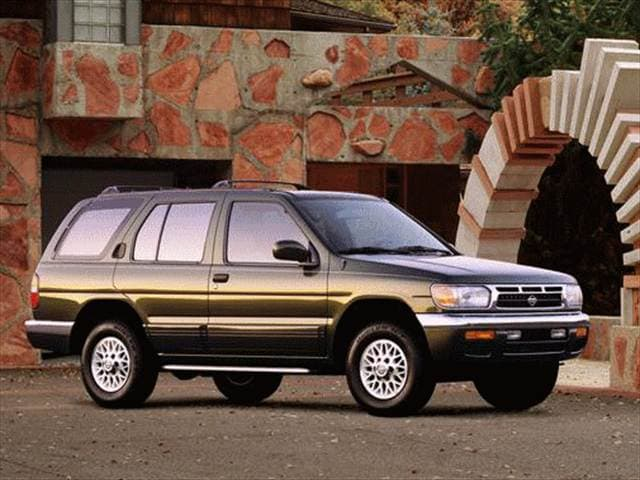Top Consumer Rated SUVs of 1998 - 1998 Nissan Pathfinder