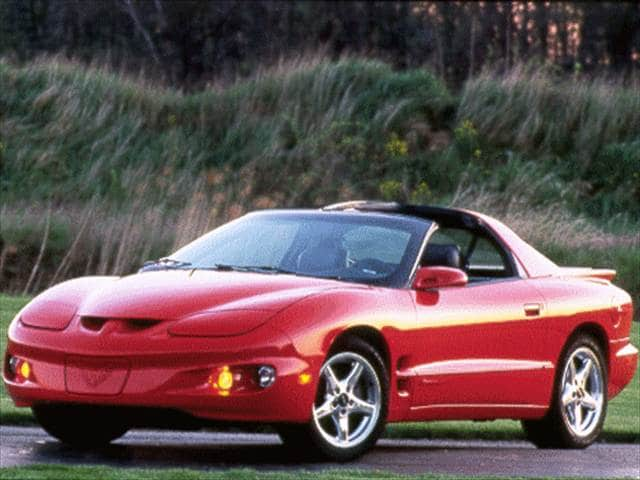 Most Popular Coupes of 1998 - 1998 Pontiac Firebird