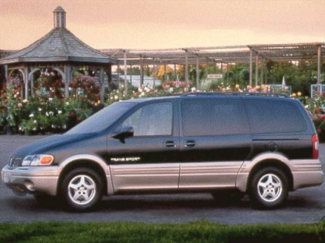 Most Fuel Efficient Vans/Minivans of 1998 - 1998 Pontiac Trans Sport
