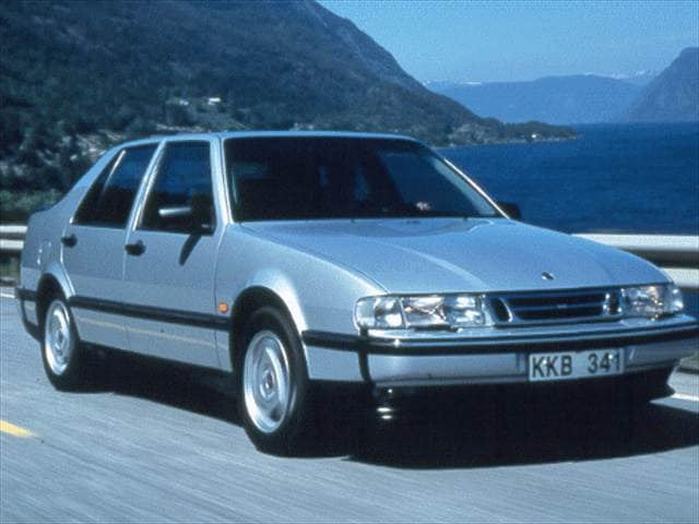 Highest Horsepower Hatchbacks of 1998 - 1998 Saab 9000