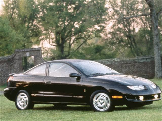 Most Fuel Efficient Coupes of 1998 - 1998 Saturn S-Series