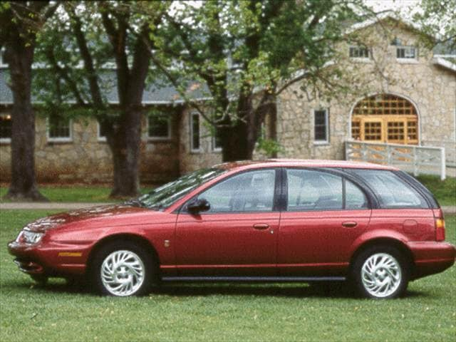 Top Consumer Rated Wagons of 1998 - 1998 Saturn S-Series