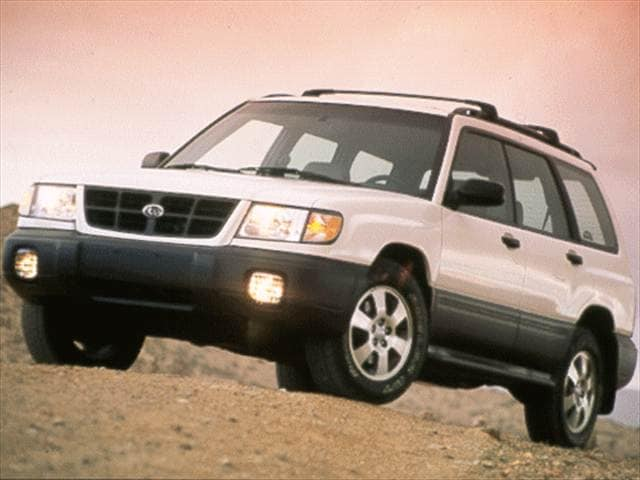 Most Fuel Efficient SUVs of 1998 - 1998 Subaru Forester