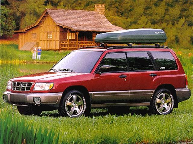Most Popular Crossovers of 1998 - 1998 Subaru Forester