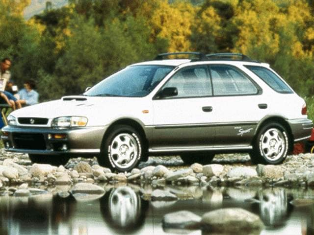 Top Consumer Rated Wagons of 1998 - 1998 Subaru Impreza
