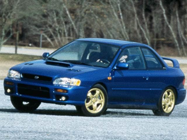 1998 subaru impreza 2 5rs coupe 2d used car prices kelley blue book. Black Bedroom Furniture Sets. Home Design Ideas