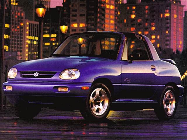 Most Fuel Efficient SUVs of 1998 - 1998 Suzuki X-90