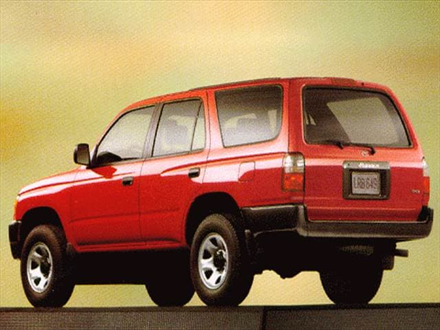 Top Consumer Rated SUVs of 1998 - 1998 Toyota 4Runner
