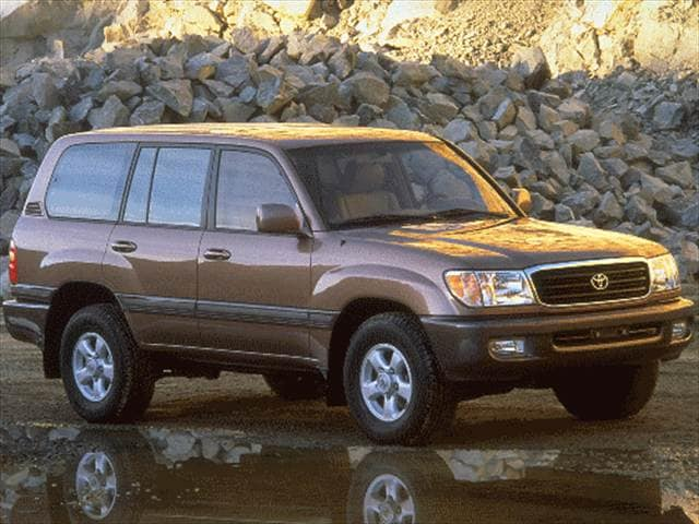 Highest Horsepower SUVs of 1998 - 1998 Toyota Land Cruiser