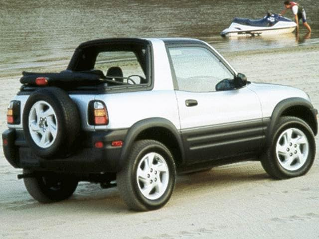Top Consumer Rated SUVs of 1998 - 1998 Toyota RAV4