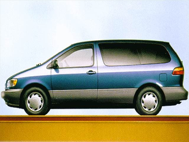 Top Consumer Rated Vans/Minivans of 1998 - 1998 Toyota Sienna