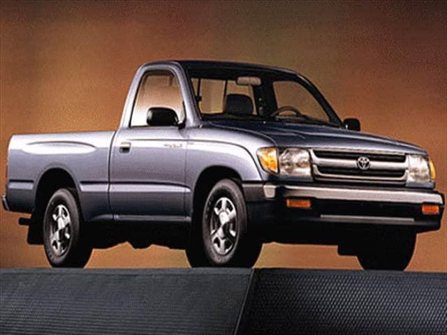 Top Consumer Rated Trucks of 1998 - 1998 Toyota Tacoma Regular Cab