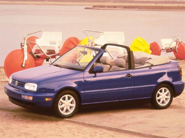 Most Fuel Efficient Convertibles of 1998 - 1998 Volkswagen Cabrio