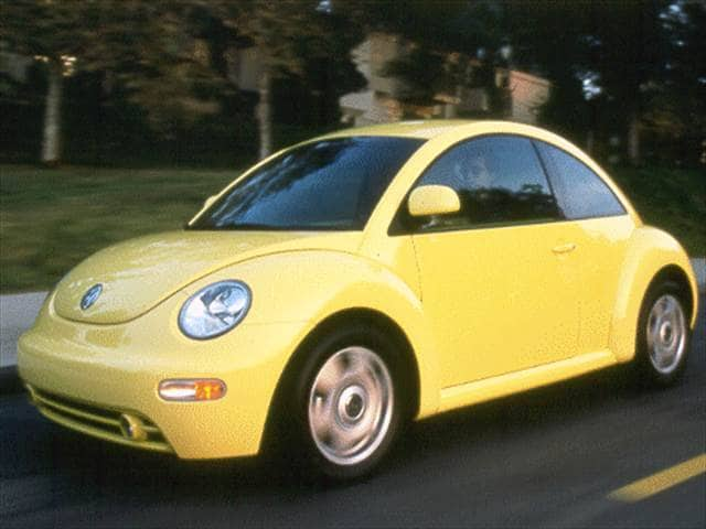 Most Fuel Efficient Coupes of 1998 - 1998 Volkswagen New Beetle