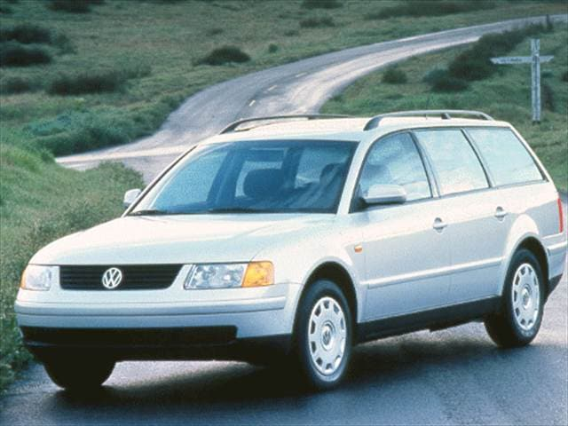 Highest Horsepower Wagons of 1998 - 1998 Volkswagen Passat