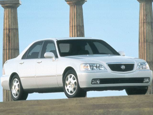 Top Consumer Rated Luxury Vehicles of 1999 - 1999 Acura RL