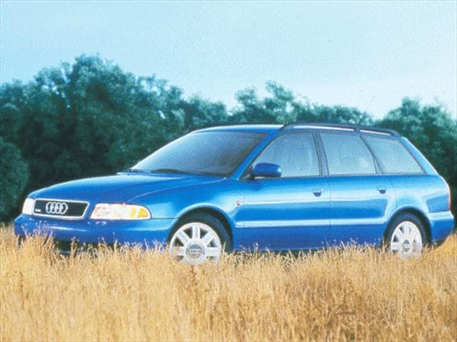 Top Consumer Rated Wagons of 1999 - 1999 Audi A4