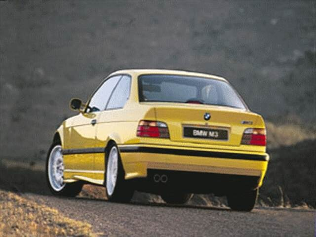Top Consumer Rated Coupes of 1999 - 1999 BMW M3
