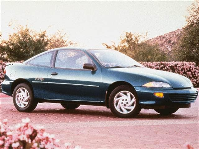 Most Popular Coupes of 1999 - 1999 Chevrolet Cavalier