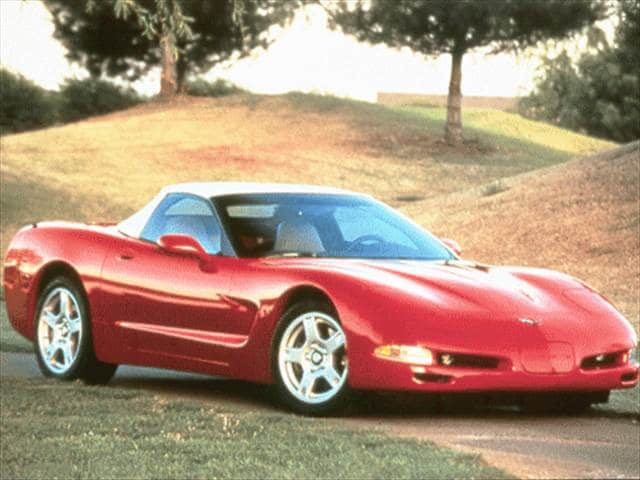 Highest Horsepower Convertibles of 1999 - 1999 Chevrolet Corvette