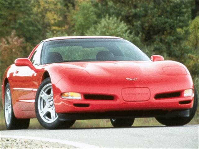 Most Popular Hatchbacks of 1999 - 1999 Chevrolet Corvette