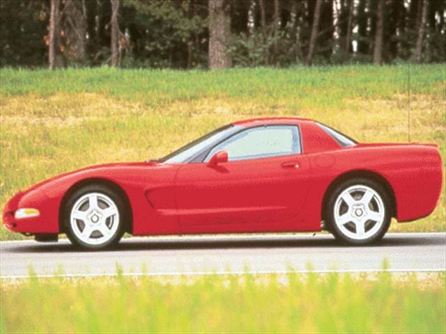 Highest Horsepower Coupes of 1999 - 1999 Chevrolet Corvette