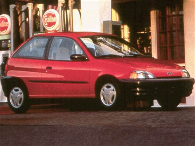 Most Fuel Efficient Coupes of 1999 - 1999 Chevrolet Metro