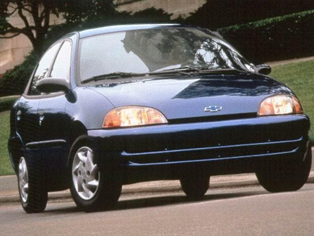 Most Fuel Efficient Sedans of 1999 - 1999 Chevrolet Metro