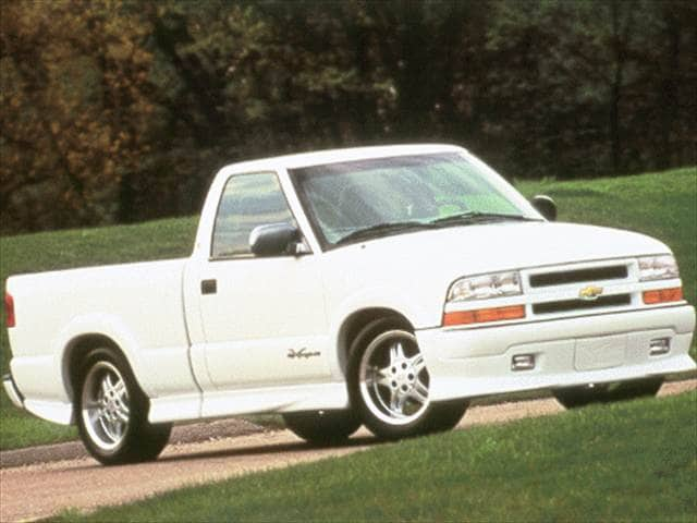 Most Fuel Efficient Trucks of 1999 - 1999 Chevrolet S10 Regular Cab