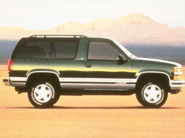 Highest Horsepower SUVs of 1999 - 1999 Chevrolet Tahoe