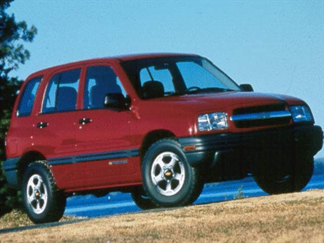 Most Fuel Efficient SUVs of 1999 - 1999 Chevrolet Tracker