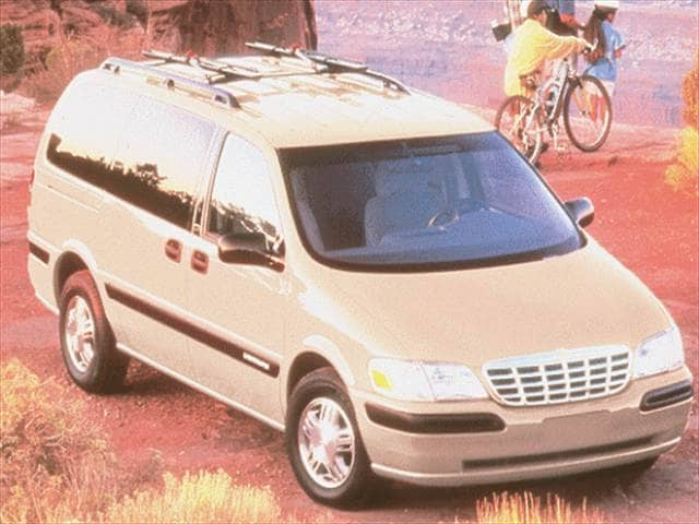Most Fuel Efficient Vans/Minivans of 1999 - 1999 Chevrolet Venture Passenger