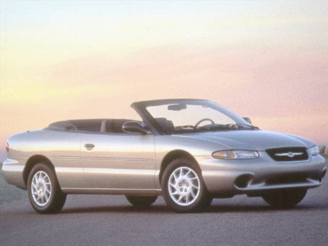 Most Popular Convertibles of 1999 - 1999 Chrysler Sebring