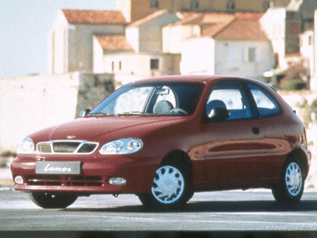 Most Fuel Efficient Coupes of 1999 - 1999 Daewoo Lanos