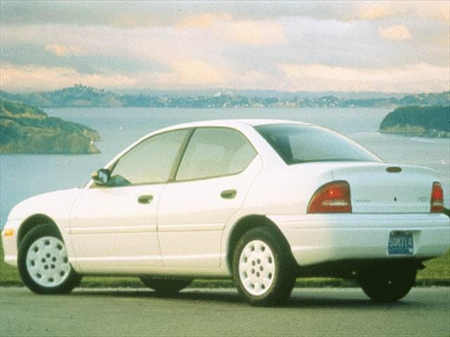 Most Fuel Efficient Sedans of 1999 - 1999 Dodge Neon