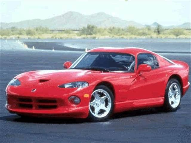 Top Consumer Rated Coupes of 1999 - 1999 Dodge Viper