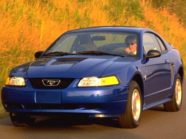 Most Popular Coupes of 1999 - 1999 Ford Mustang
