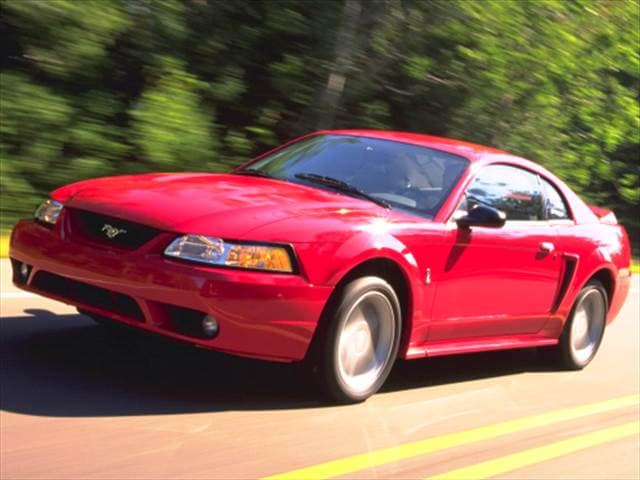 Highest Horsepower Coupes of 1999 - 1999 Ford Mustang