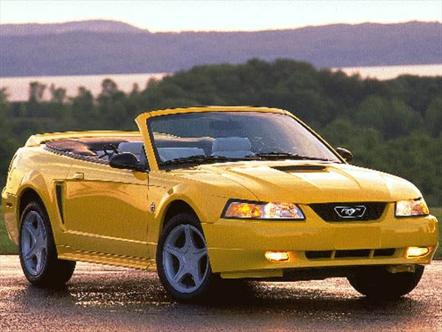 Most Popular Convertibles of 1999 - 1999 Ford Mustang