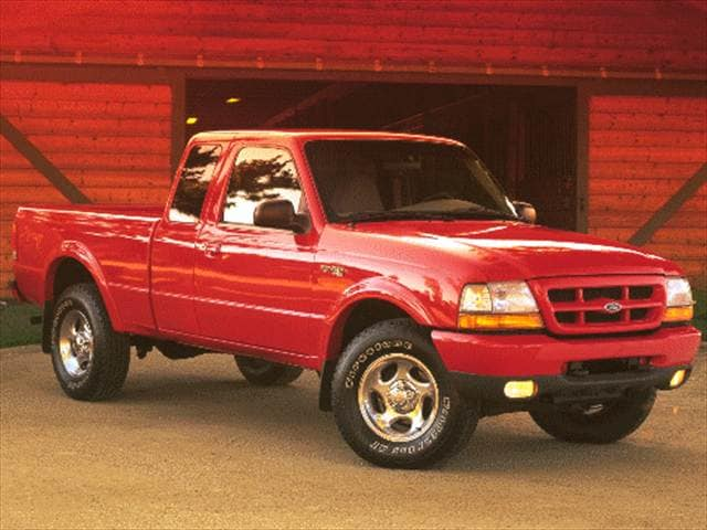 Most Fuel Efficient Trucks of 1999 - 1999 Ford Ranger Super Cab