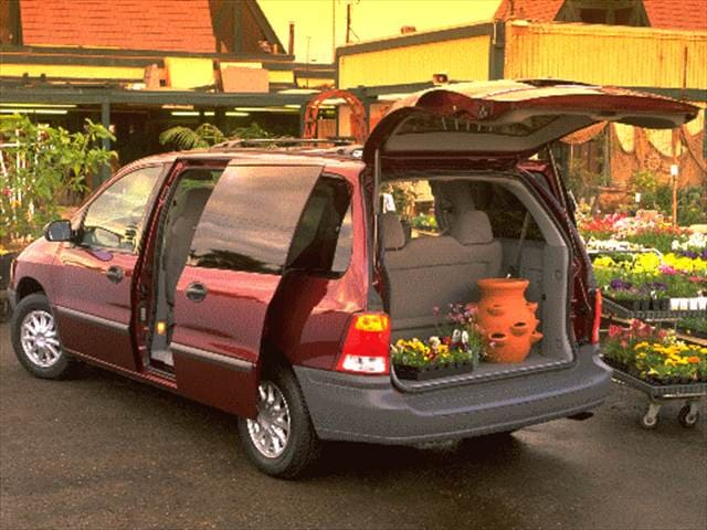 Most Popular Vans/Minivans of 1999 - 1999 Ford Windstar Passenger
